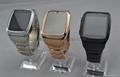 GD999 Watch Bluetooth3.0 JAVA USB fashion watch phone black gold color