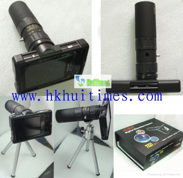 Vivitar 12x25 Digital Camera Binocular VIV-CV-1225V BH Photo