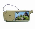 7'' Sunvisor car TFT LCD Monitor with Built-in DVD Player(HD-7088D) 1