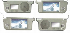 9''Sun Visor car TFT LCD Monitor with Built-in DVD Player