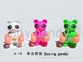 Boxing panda 1