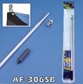 6 FT Aluminum 3 Sectional Hand Hold Adjustable Flagpole Kit 2