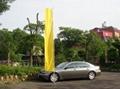 18FT Alu 4 Sec Adjustable Banner pole