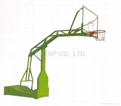 Basketball stop