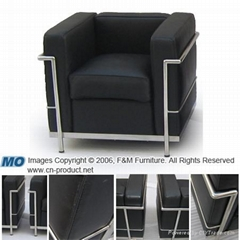 Sell Le Corbusier Sofa (Leather Sofa)---others:basculant chair,classic chair,egg
