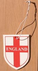 England Flag Air Fresheners