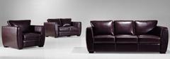 leather sof