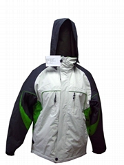 Mens 3 tones ski jacket
