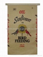 kraft paper plastic laminated bag