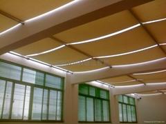 长沙创远FSS电动天棚帘遮阳系统产品