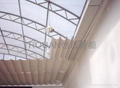 长沙创远FCS电动天棚帘遮阳系统产品