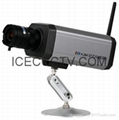 ICEC H.264 Wired & WI-FI/Wireless IP Box Camera