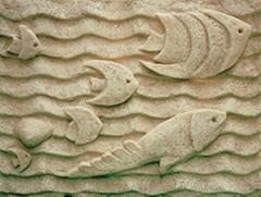 砂岩水景石板