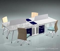 福州至誠辦公傢具辦公桌組合