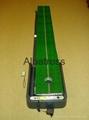 豪華型電腦裝置高爾夫推杆練習器