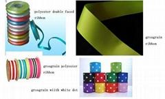 Polyester Ribbon or Grosgrain,Swiss Dot Ribbon