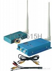 1.5G 1500mW 无线影音发射机与接收机