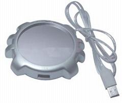 HUB+USB保温碟