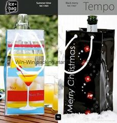 PVC ice bag,wine bag,cooler bag