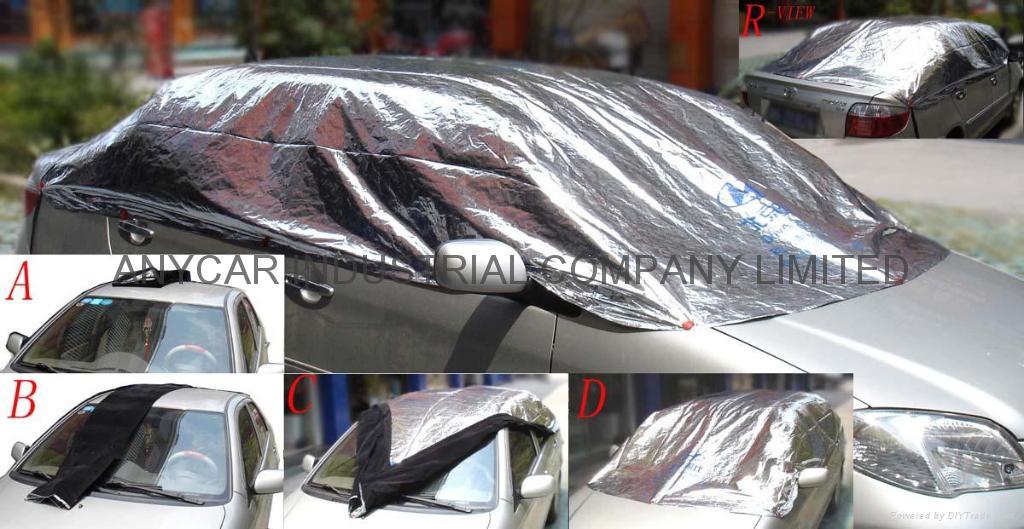 Diy Car Shade : Car adiabatic hood heat insulating shield sunshade