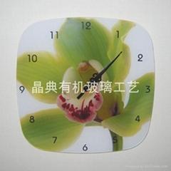 有機玻璃工藝挂鐘