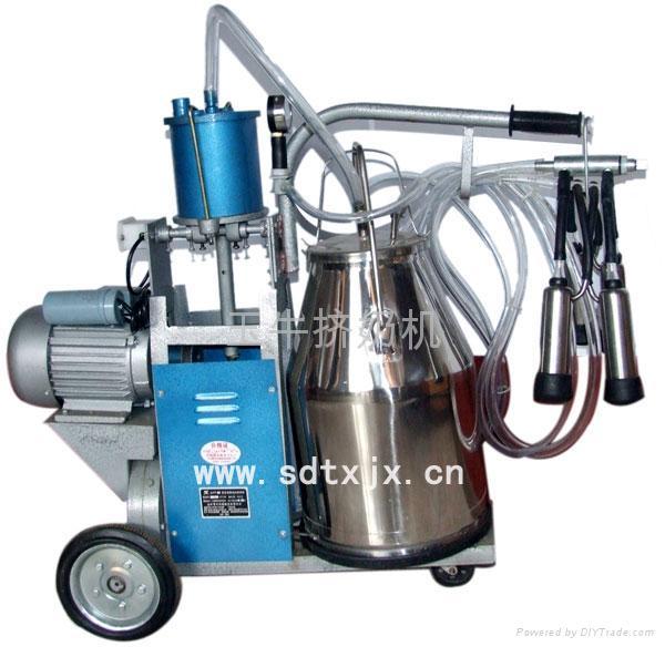 中國擠奶機鍘草機TMR飼料攪拌車羊擠奶機供應商玉牛 1