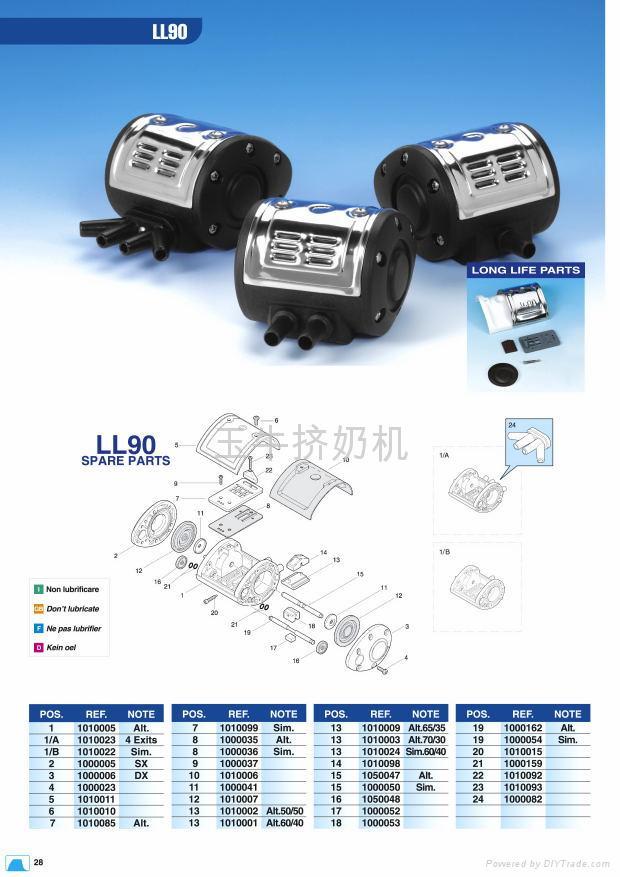 中國擠奶機鍘草機TMR飼料攪拌車羊擠奶機供應商玉牛 3