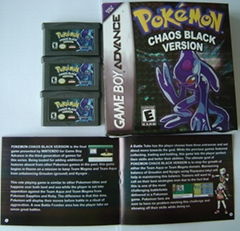 GBA Game - Pokemon  Vers