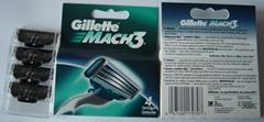 Gillette mach 3 razor blades