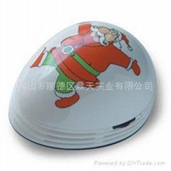 圣诞老人桌面吸尘器