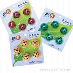 Ladybug mini magnet