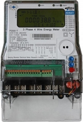 KEMA Certified Three Phase Energy Meter Class 0.2s