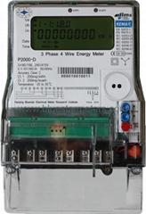 KEMA Certified Three Phase Energy Meter P2000-D