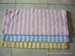 Jacquard Terry Towel (heart design)