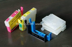 Refillable Ink Cartridge with Switch