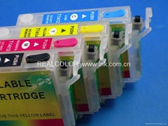 New Refillable Ink Cartridge with switch