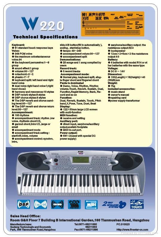 Electronic Keyboard 2