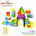 Wooden Toys  28pcs fantasy block