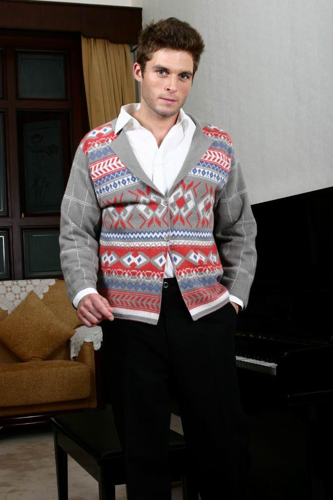 100%纯兔绒针织衫  5