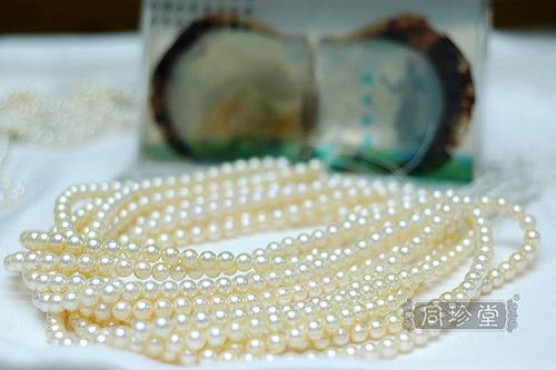 海水珍珠项链 1