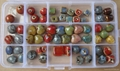 colorful porcelain beads size:8mm to