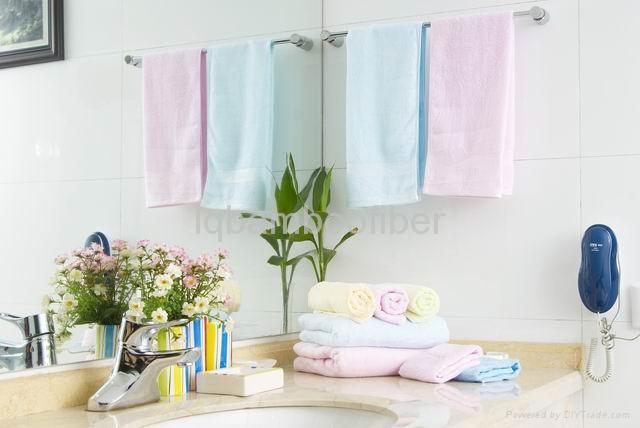 竹棉缎档毛巾 2