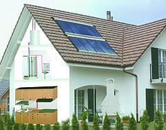 Split Solar Collector