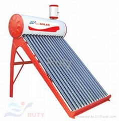auxiliary feeder solar water heater