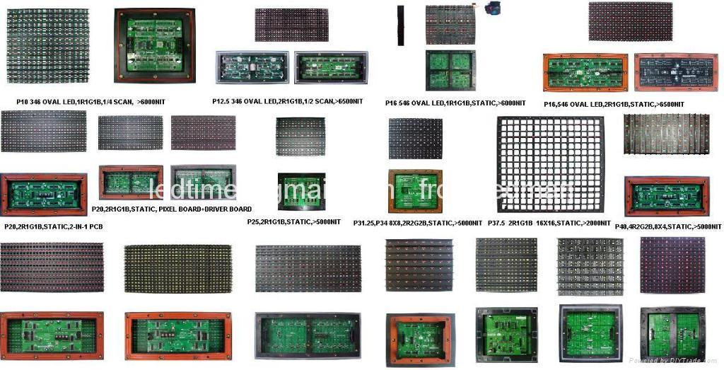 Ledman LED Module for LED Video Display Screen,pantallas de