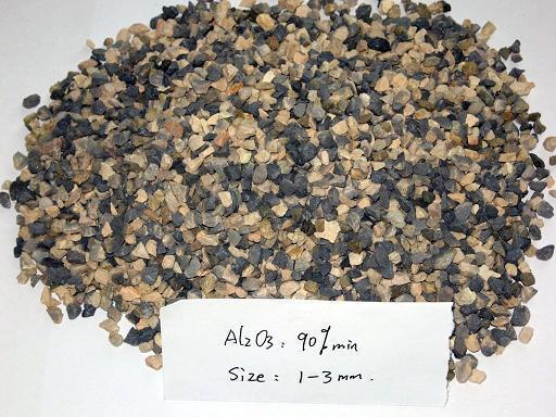 Refractory grade calcined bauxite 1