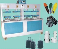 EVA鞋墊,箱包盒,護具冷熱成型機