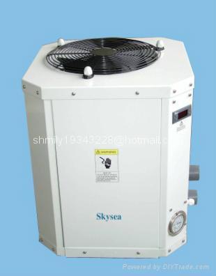 Fish pond heat pump sea water heater thdm800 skysea for Koi pond heater