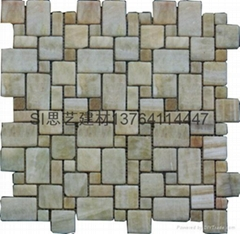 供应大理石水晶马赛克12