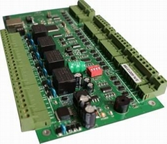 4-door Access Controller PCB Board With TCP/IP Interface Y.link04